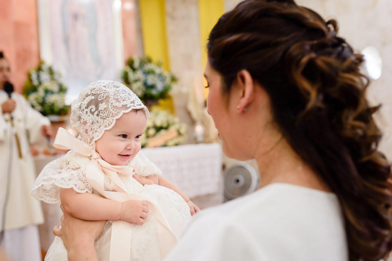 fotografía de bautizo